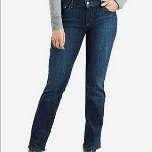 Levi's 505 straight leg midrise jeans 28